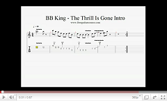 bb king the thrill is gone intro