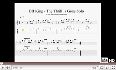 bb king the thrill is gone solo video