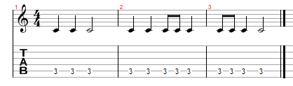 How to Read Guitar Tabs Rhythm - Guitar For Beginners