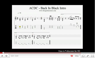 acdc back in black video