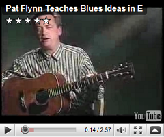 blues ideas in e